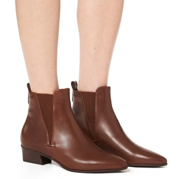 Aquatalia Fabienne Weatherproof Chelsea Ankle Boot NWT